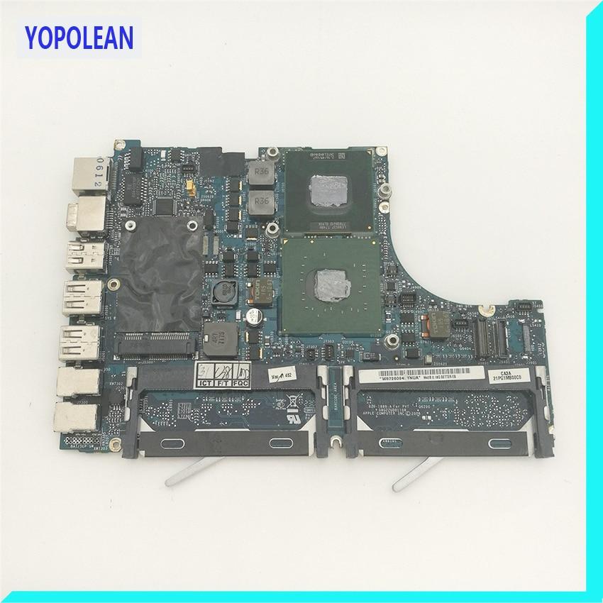 Genuine A1181 Logic Board For MacBook 13 A1181 2007 MB063LL/A MB062LL/A 820-1889-A 2.16GHz T7400