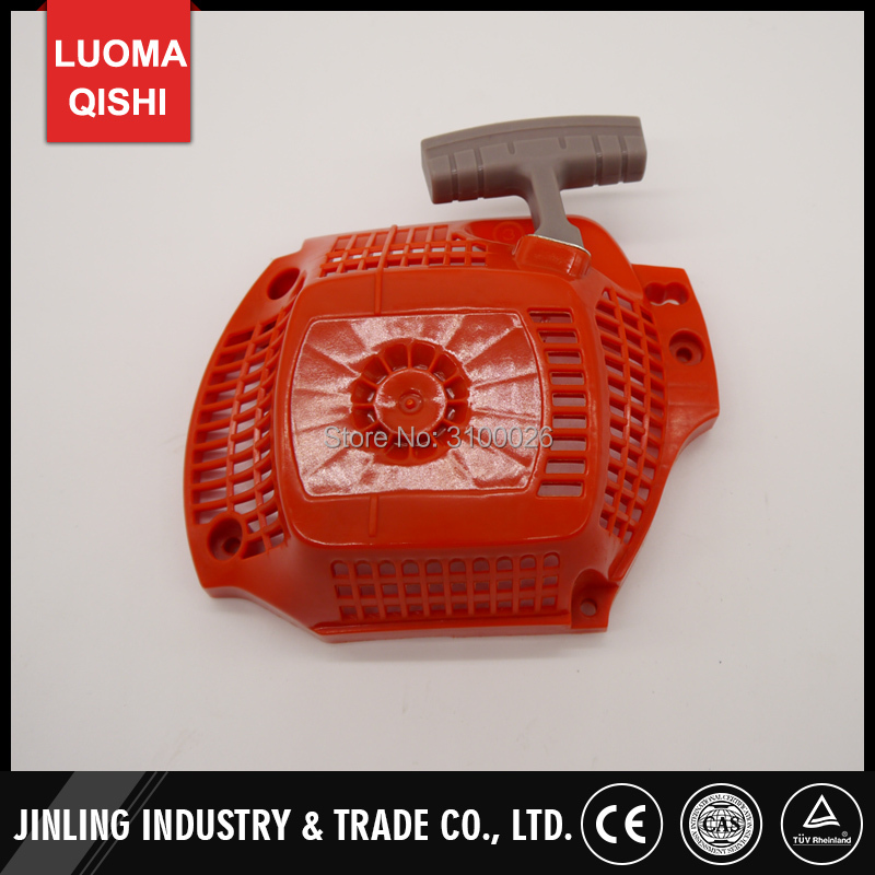 1pc chainsaw recoil starter Fit For <font><b>Husqvarna</b></font> 135 <font><b>140</b></font> 435 440 Gasoline Chain Saw spare Petrol saw parts 504597002 rewind starter image