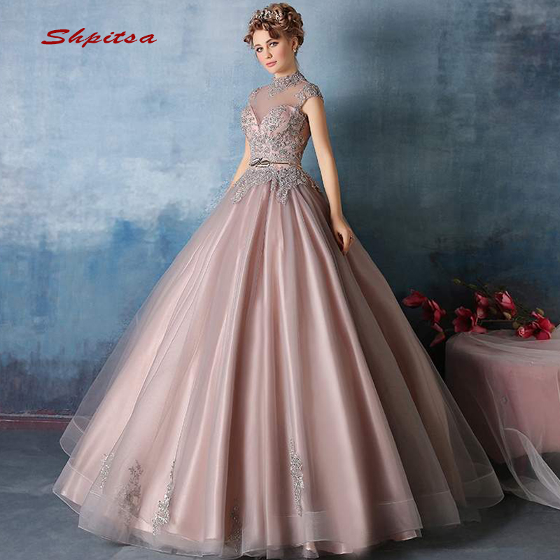 Quinceanera Dresses Ball Gown Crystals Beaded Prom Debutante Sixteen 15 Sweet 16 Dress vestidos de 15