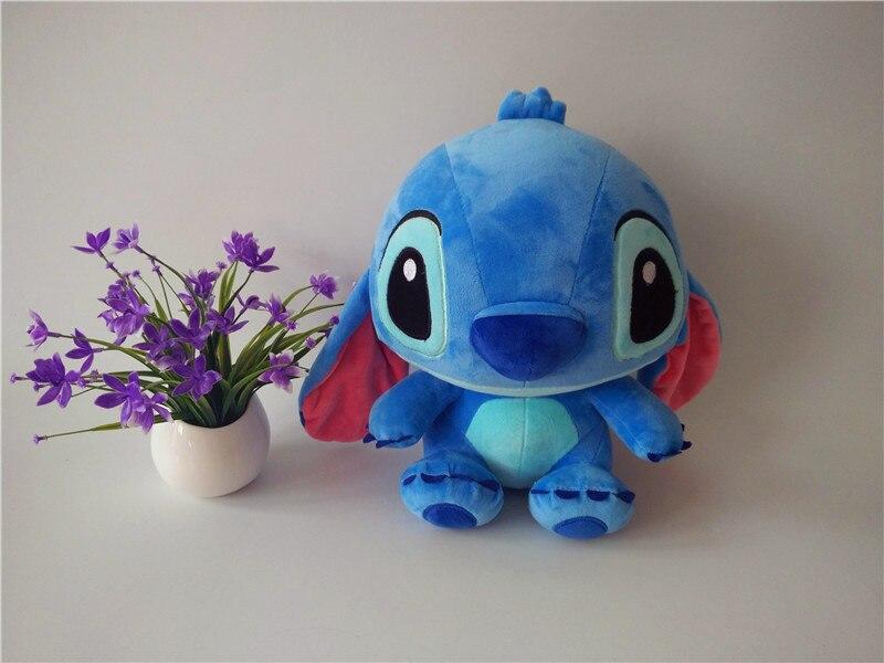 Honey Toys 30cm Plush Toys Stitch Stuffed And Soft Animal Toys 1pcs Birthday Gift