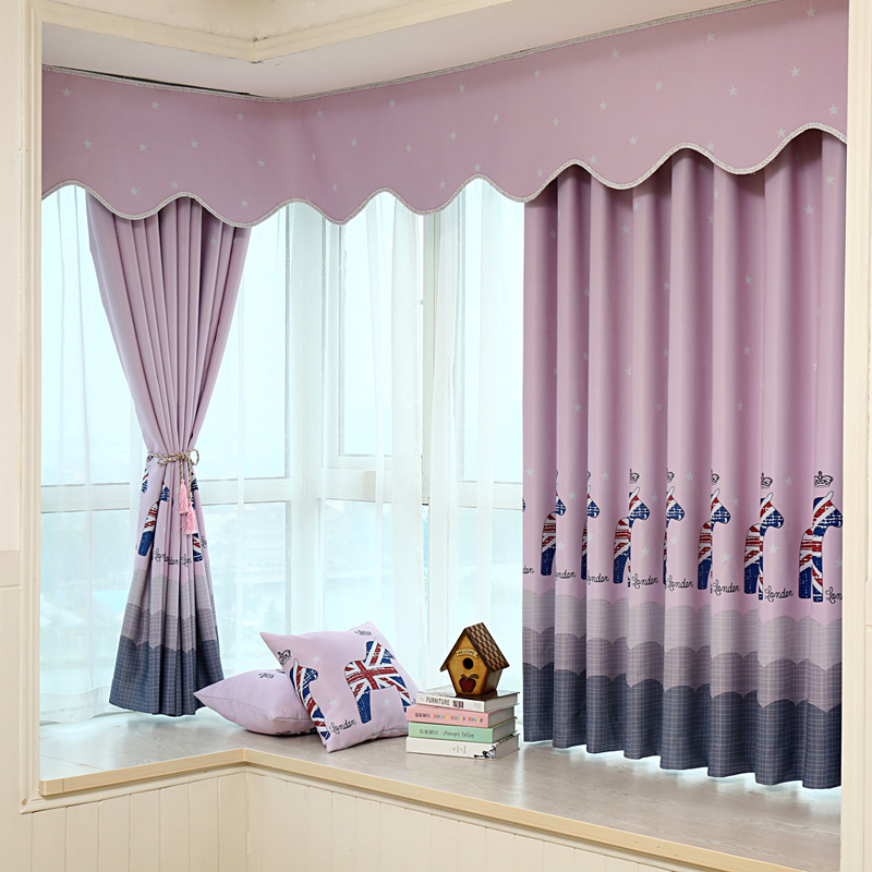Great Aliexpress 2 Pc Modern Short Curtains For The Bedroom