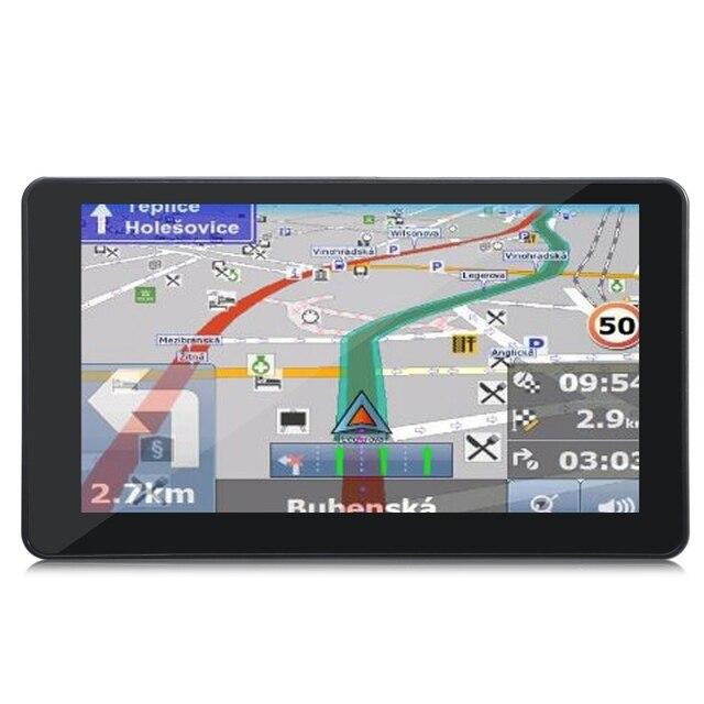 901 7 polegada Android 4.4 Tablet GPS Do Carro de 170 Graus wide angle 1080 p gravador dvr wi-fi transmissor fm apoio google mapas