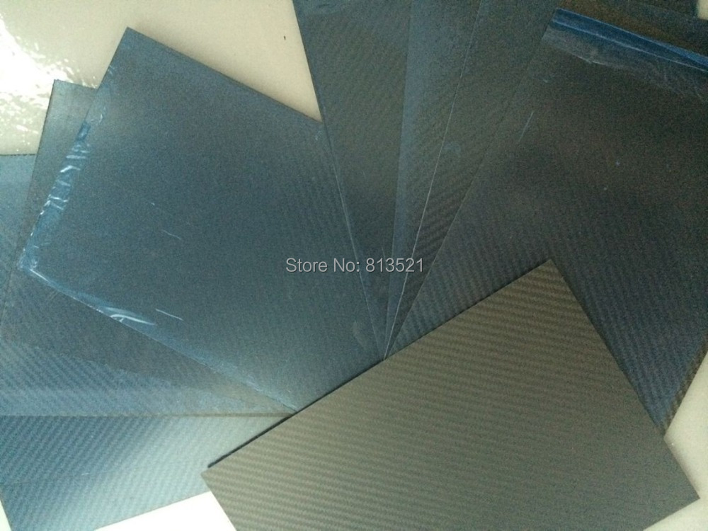 10pcs 2.0X200X300mm 100%/Full Carbon fiber twill matte plate/sheet/board whole sale hcf031 4 0x400x250mm 100% full carbon fiber twill weave matte plate sheet made in china