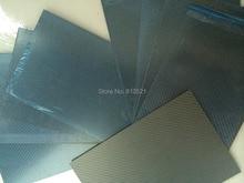 Free shipping by DHL + 10pcs 2.0X200X300mm 100%/Full Carbon fiber twill matte plate/sheet/board