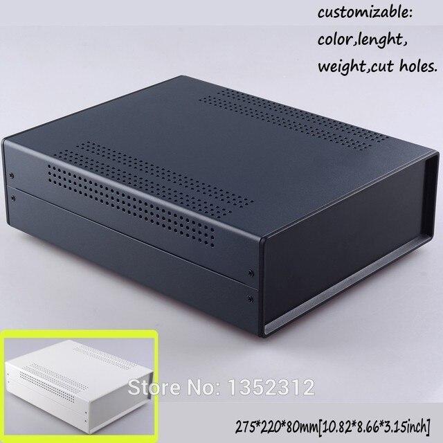 Ein stück 275*220*80mm eisen gehäuse für elektronik eisen projekt ...