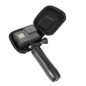 Image 2 - Mini EVA Fall Schutz Tasche für GoPro Hero 9 8 7 6 5 Schwarz Sliver Weiß Sport Kamera PU Lagerung box Dji Osmo Action Zubehör