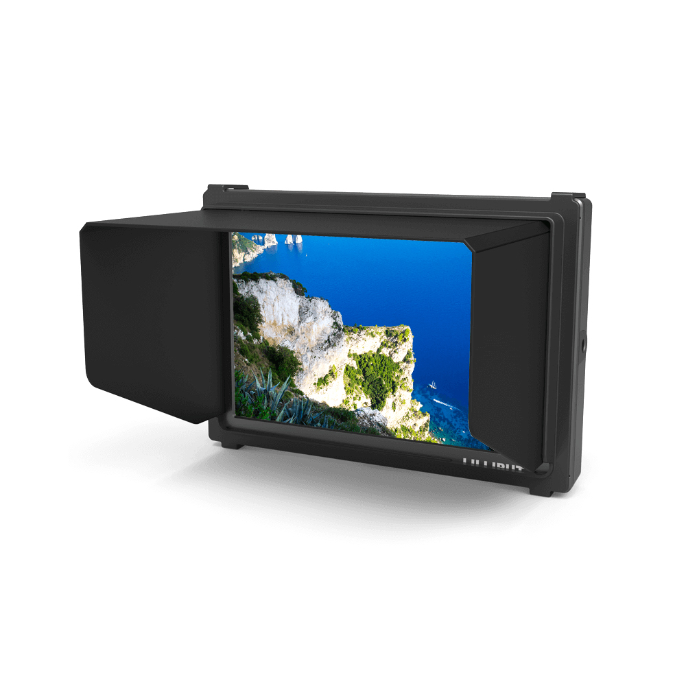 LILLIPUT 665/P 7 inch TFT LED digital camera HDMI monitor with Advanced Functions Composite video input