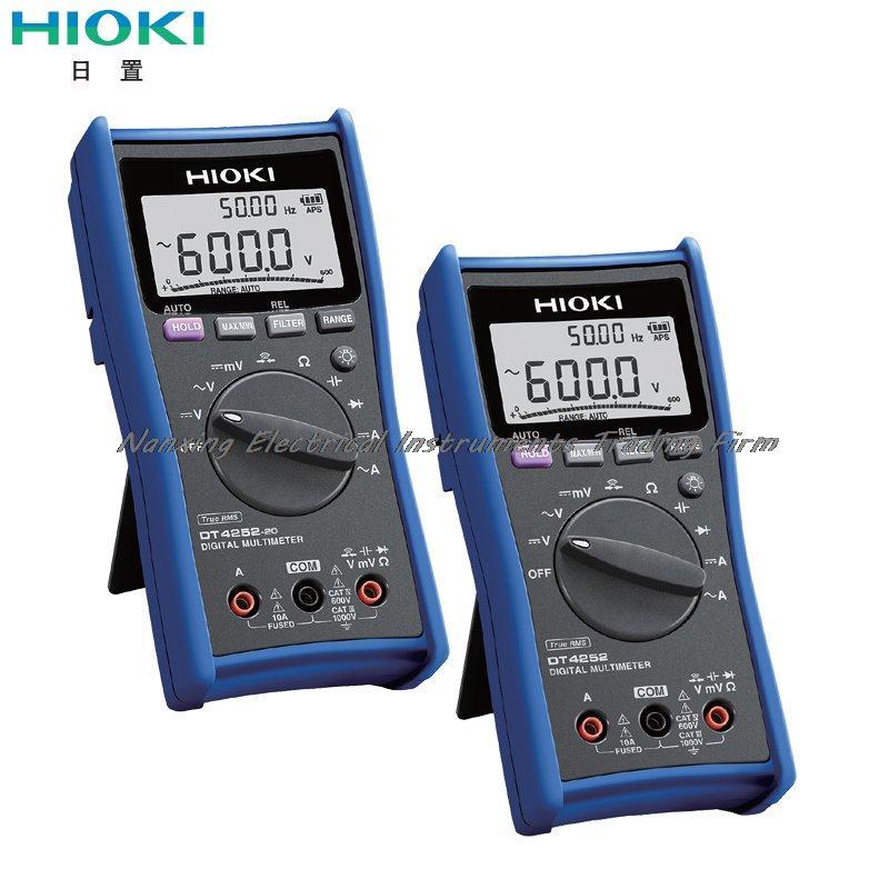 Fast arrival HIOKI DT4252/DT4252-20 DIGITAL MULTIMETER Speedy Performance of Professional Testing цена