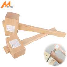 Mytec madera Martillos mazo de madera Martillos gadget para DIY Carpenter carpintería del hogar Herramientas