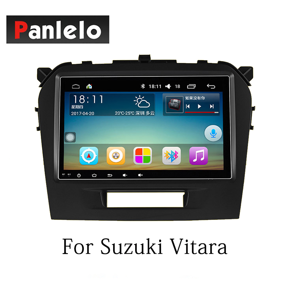 Image 4 - Panlelo Car Stereo Android7.1 For Suzuki SX4 Alivio Swift Vitara 2 Din Auto Radio AM/FM GPS Navigation BT Steering Wheel Control-in Car Multimedia Player from Automobiles & Motorcycles