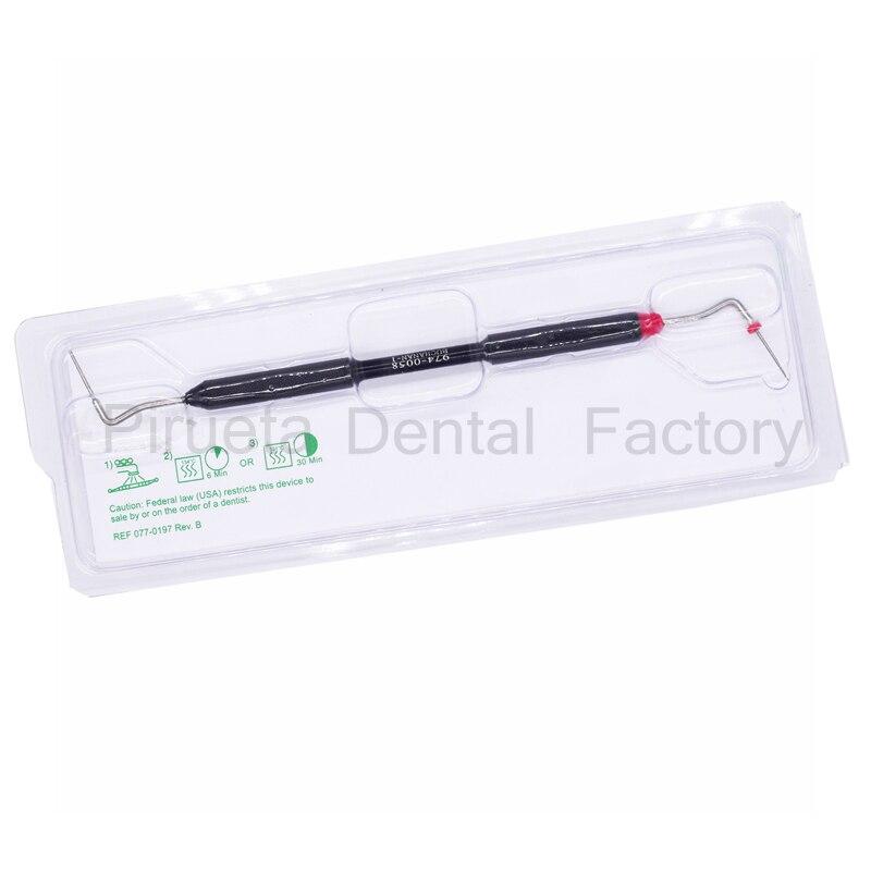 Protetor dental endodontia, instrumento endo de enchimento vertical para canal