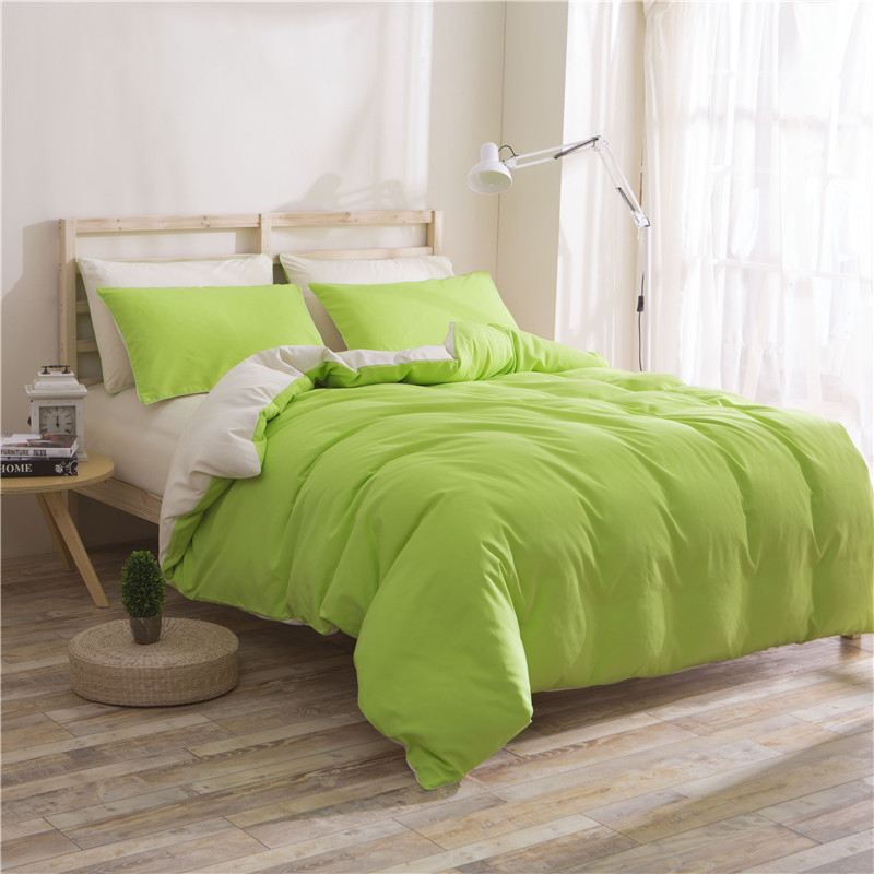 Grass Green Solid Color 4Pcs Bed Linens Set Red Microfiber Bed Set Bedclothes Comforter Duvet Cover Sets Outlet Bedding Set KingGrass Green Solid Color 4Pcs Bed Linens Set Red Microfiber Bed Set Bedclothes Comforter Duvet Cover Sets Outlet Bedding Set King