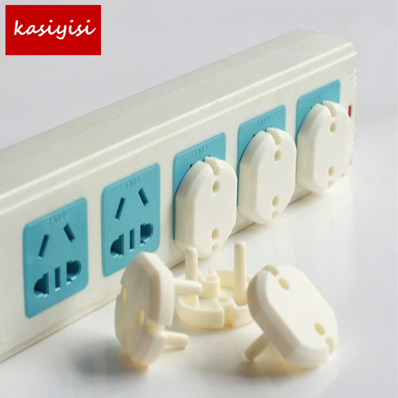 Free Shipping 5-20Euro Standard Children Electrical Safety Protective Socket Cover Cap Two Phase Baby Security Product ATRQ0136