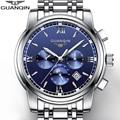 2016 top brand guanqin nuevos relojes mecánicos hombres de moda a prueba de agua reloj luminoso con fase lunar calendario relogio masculino