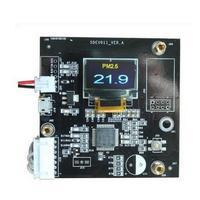 SDEV011 PM2.5 sensörü (SDS011) hata ayıklama kurulu ekran paneli PM2.5 dijital ekran modülü