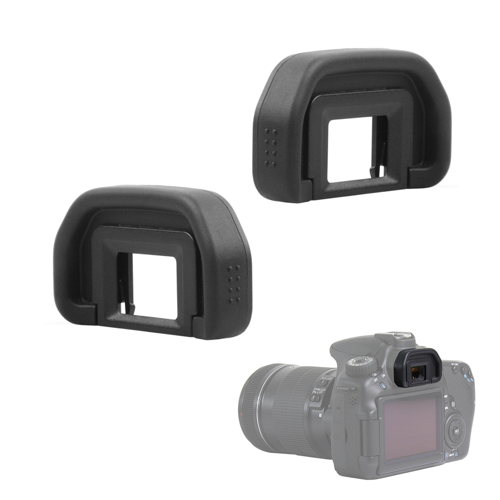 2PCS Rubber EyeCup EB Eye Cup Eyepiece For Canon 60D 50D 5D Mark II 5D2 6D2 6D 80D 70D 40D 30D 20D 10D