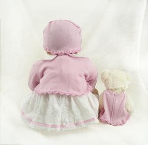Image 5 - NPK Muñeca realista de silicona suave para niños, muñeco de bebé recién nacido de 55CM, 22 pulgadas