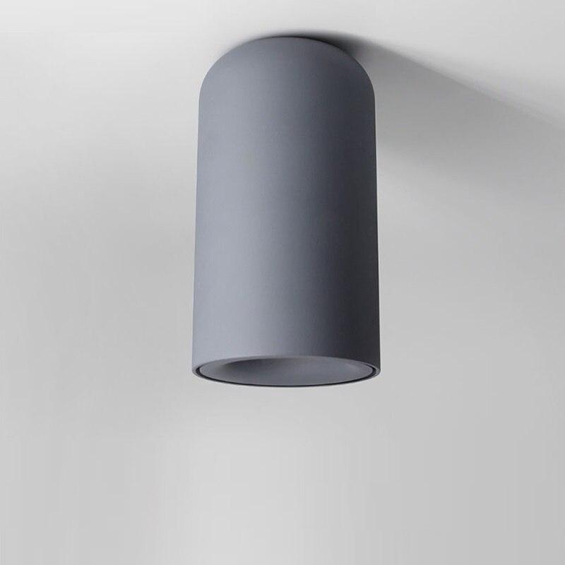 7W 9W AC85 265V Fashion Aluminum LED Ceiling Downlight Warm White White Natural White Gray Black