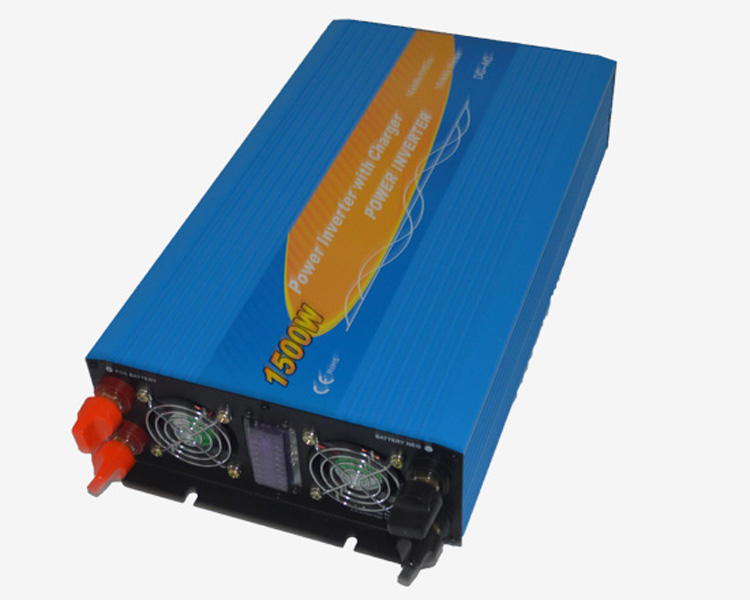 цена на 12V/24V/48V 1500W Single Phase Pure Sine Wave Power Inverter Off Grid Solar Inverter With Battery Charger DS-1500PC