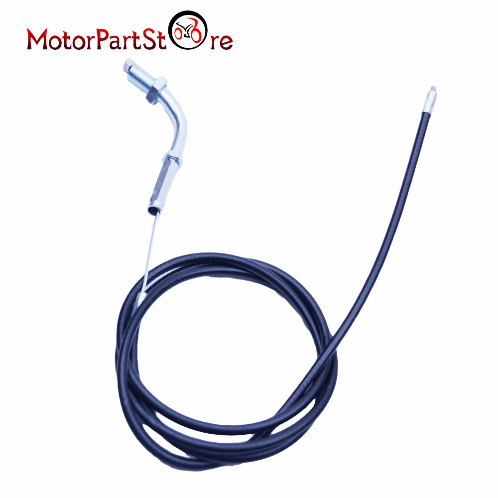 Throttle Cable for 49cc 60cc 66cc 80cc 2 Stroke Engine Motorized Bicycle Dirt Pit Bike ATV Quad Accessories # throttle cable or wire suit for jianshe400 atv js400atv