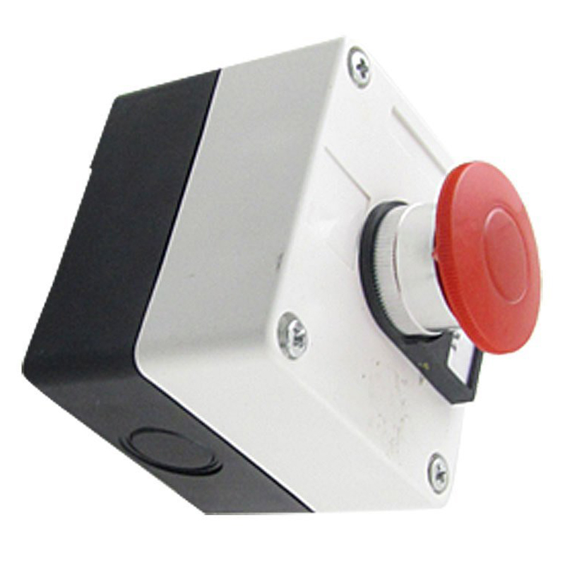 цена на JFBL Hot 600V 10A Momentary Switch Red Green Mushroom Push Button Station