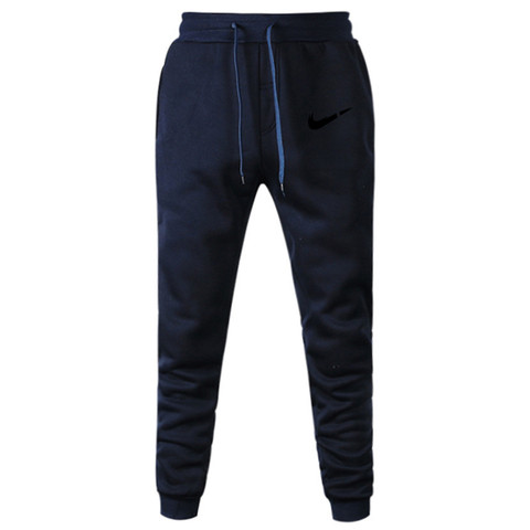2019 New Men Joggers Brand Male Trousers Casual Pants Sweatpants Jogger Grey Casual Elastic Cotton GYMS Fitness Workout Dar XXXL Islamabad