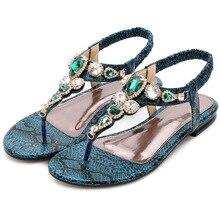Ladies beach sandals summer flat shoes ladies beaded design Roman sandals fashion non-slip shoes flat toe non slip roman beach sandals