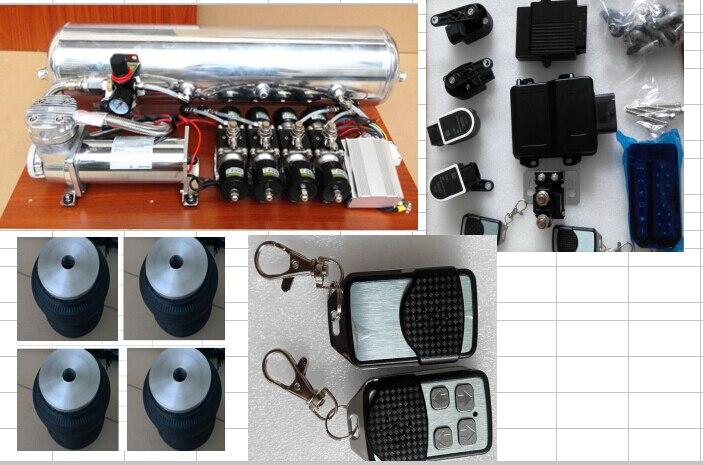 Делюкс Универсальный пневматической подвеской системы common пневморессоры нормальный Подвеска для всех марок автомобилей может быть подход