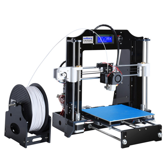 Wholesale Infitary 3D Printer kits High Quality CNC 3d printers with 1 Roll Filaments Permanent Technical Support impresora 3D