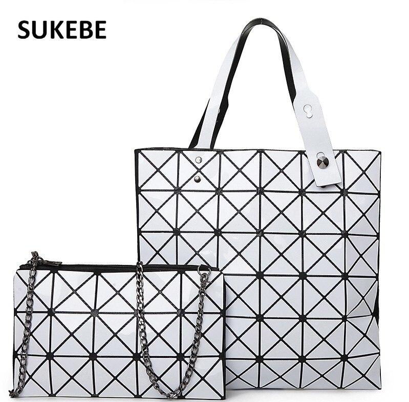 New Arrivel Women Bag Luxury Handbags Women Messenger Bags Fashion Women Shoulder Bags Tote+wallet 2 pcs/set Bolsa