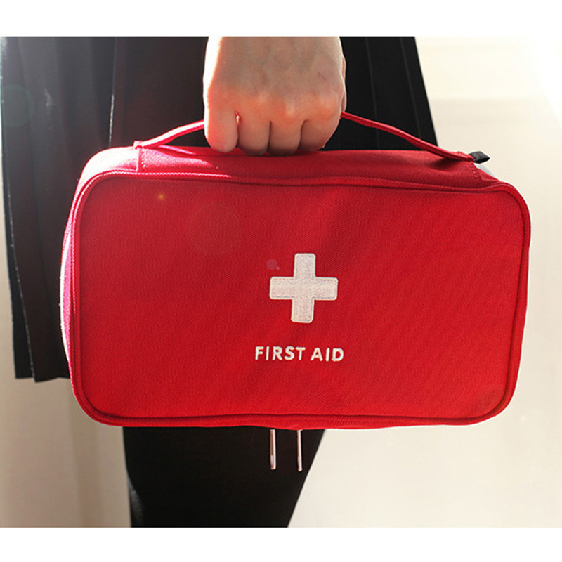 Brand New High Capacity Treatment Medical Bag First Aid Kits Home Office School Outdoor Camping Traveling Rescue Emergency Use