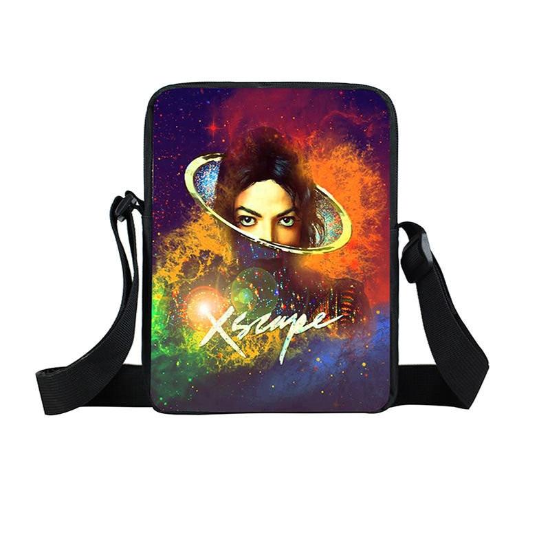 Michael Jackson Mini Messenger Bag Women Handbags Unisex Single Shoulder Bag Boys Girls Crossbody Bags Children