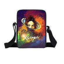 Michael Jackson Mini Umhängetasche Frauen Handtaschen Unisex Einzelner Schulterbeutel Jungen Mädchen Umhängetaschen Kinder Geschenktüten