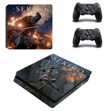 Sekiro Shadows Die Twice PS4 Slim Skin Sticker Vinyl For PlayStation 4 Console and Controllers PS4 Slim Skin Stickers Decal