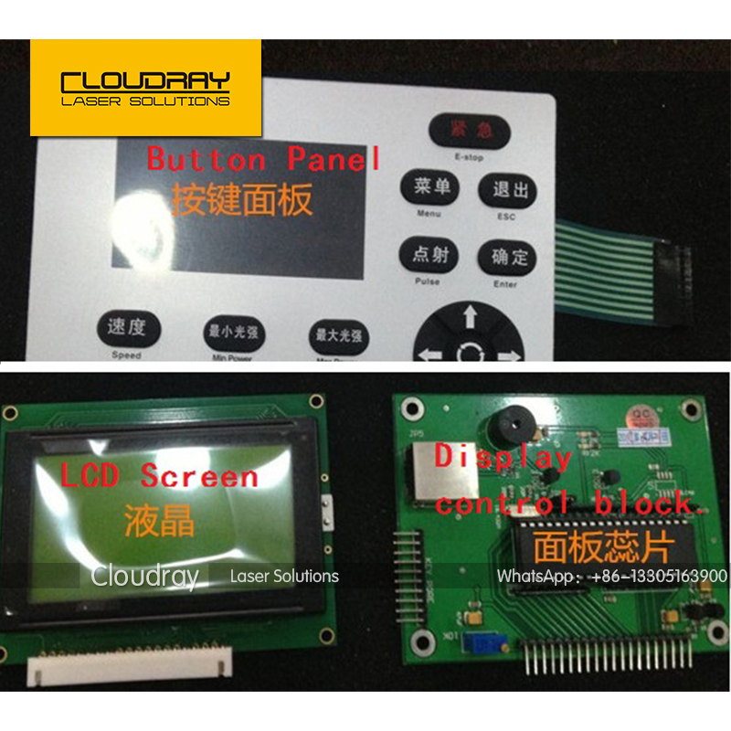 Han's YUEMING Laser Controller Panel for Laser Engraving and Cutting Machine  цены