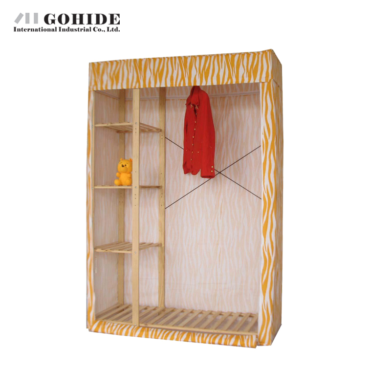 Gohide 132cm Home Simple Wardrobe Double Big Wardrobe Storage Cabinet 953s Furniture Wardrobes With Simple Lockers For Bedroom simple cm 379