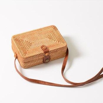 Handmade Rattan Woven Bag 1