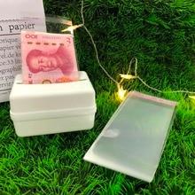 Birthday Surprise for girlfriend wife Napkin Banknote Box Pumping Tissue Box Pull Money boxes 6/8 Inch Cake Box Cake Decoration magic cake box