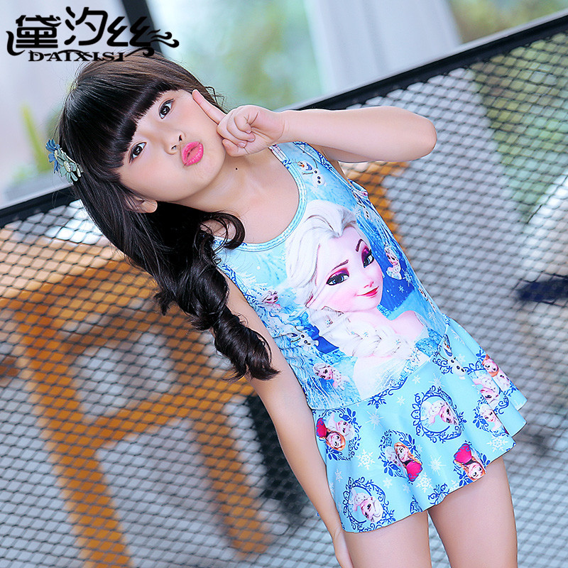Child Swimwear Girl Swimsuit For Children Sexy Bikini Kids Junior Girls 2018 Snow Swimming Baby Polyester Animal Sierra Surfer