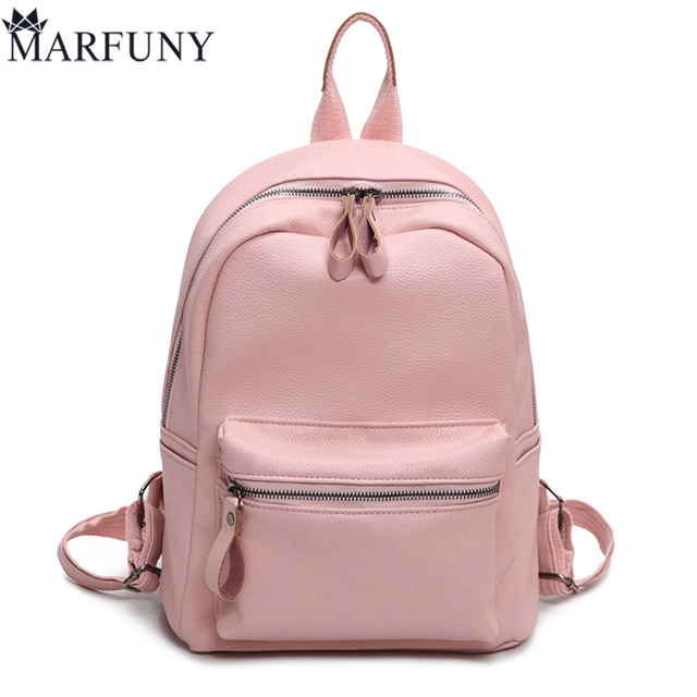 Aliexpress.com : Buy Pu Leather Backpack Women Backpack Fashion ...