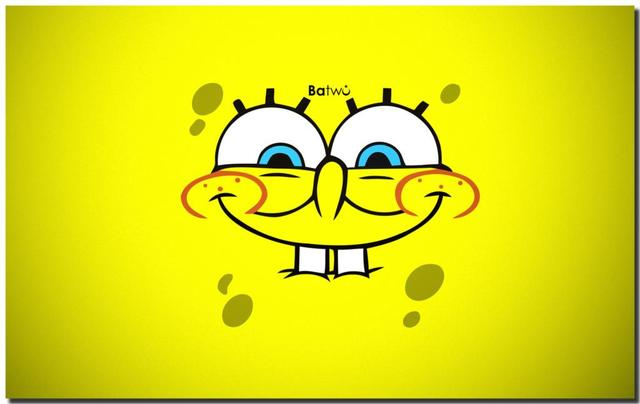 Cartoon Awesome Face Happy Expression Spongebob Funny Expression Hd