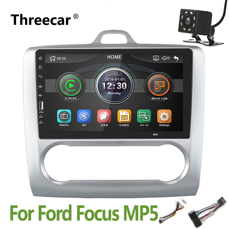 2din Car Radio Bluetooth Autoradio Stereo Mirrorlink Android phone Multimedia MP5 Player car Camera for Ford Focus 2004 2011