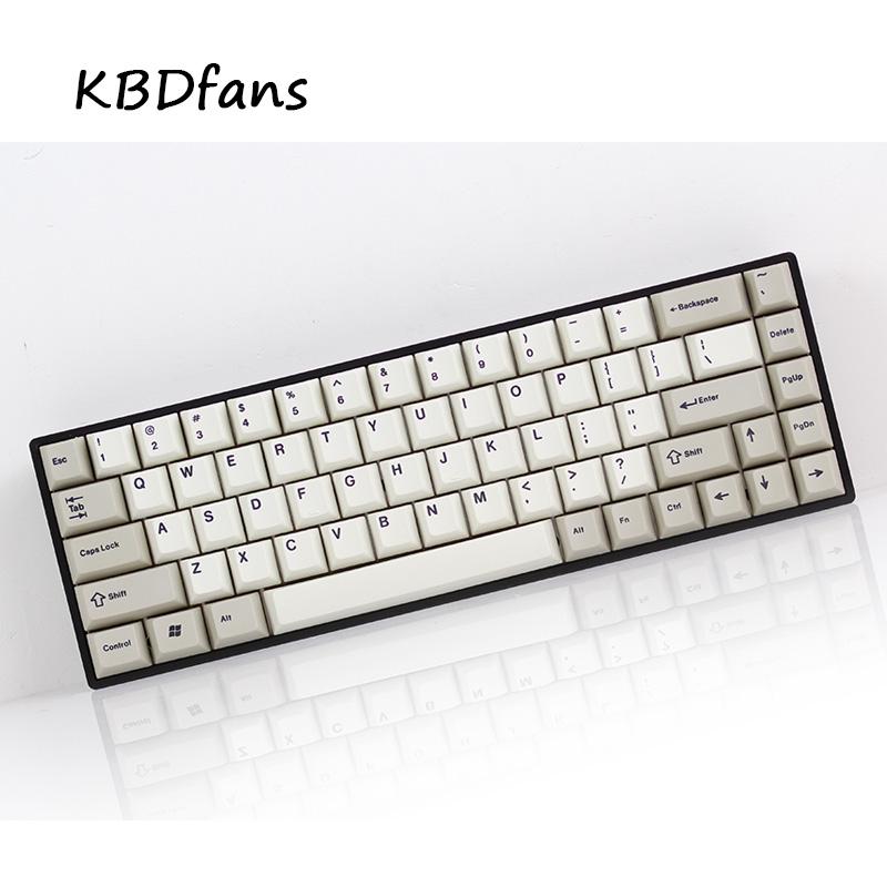 Prix pour Tada68 Mécanique clavier gateron swtich 65% mise en page sublimation keycaps cherry profils enjoypbt keycap cherry profil