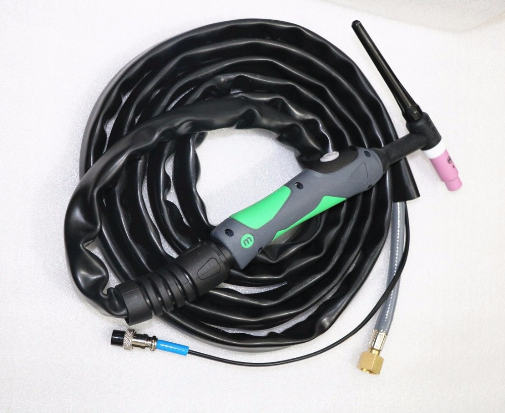 Newest With WP26 TIG26 4 Meter Argon Welding Torch Air Cooled Torch M16*1.5