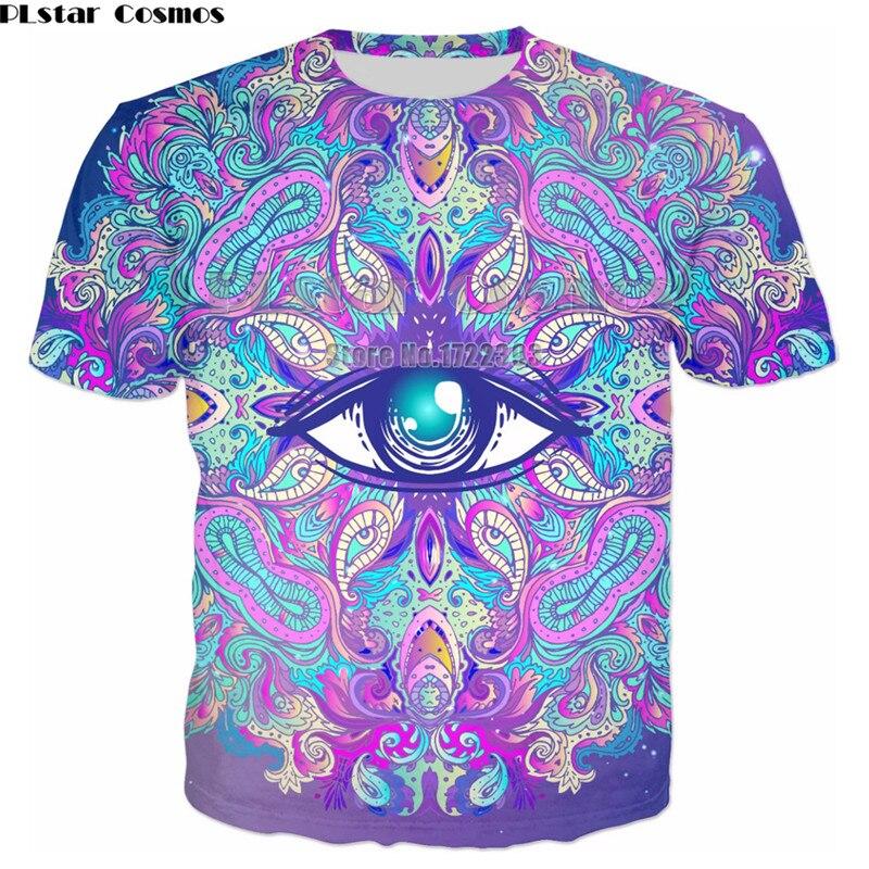 8466dabb PLstar Cosmos Mens Funny Printing T shirts Men/Women Summer Short Sleeve Tees  T shirt