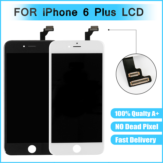 size 40 af3e2 92ad1 US $15.9 |100% AAAA LCD For iPhone 6 Plus Replacement LCD Display Touch  Digitizer Screen 5.5 inch-in Mobile Phone LCD Screens from Cellphones & ...