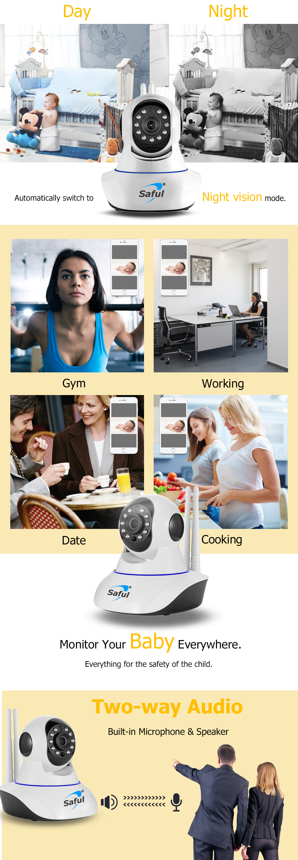 IP Camera WiFi Wireless (4)