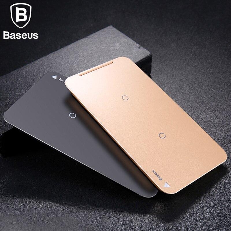 Baseus 10 Watt Schnelle Drahtlose Ladegerät Für iPhone X 8 Samsung S8 S9 S9 + Anmerkung 8 Schnelle Qi Wireless Sicher Lade Tischladestation stehen