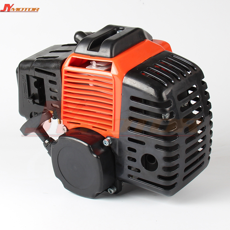 49CC 2-STROKE ENGINE MOTOR Pull Start POCKET MINI BIKE SCOOTER ATV 49cc pocket bike 2 stroke pull start engine for mini go kart dirt bike petrol scooter atv pocket bike motor motocross fdj 001