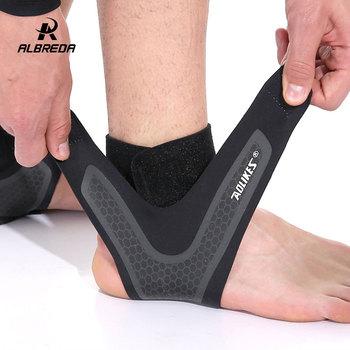 1 kawałek sport wsparcie kostki chroń piłka nożna koszykówka Badminton ochrona bandaż elastyczny zwichnięcie kostki Brace straż ochrony